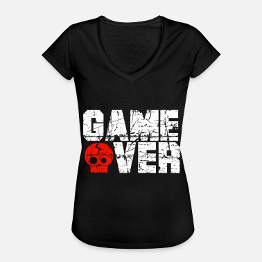 Game Over Game over - Maglietta vintage donna