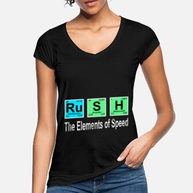 Rush Rush the Elements of Speed - Women's Vintage T-Shirt