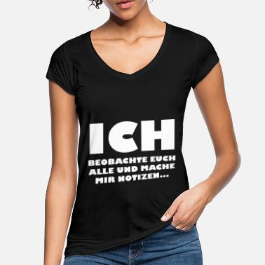 Notiz Beobachten Notizen - Frauen Vintage T-Shirt