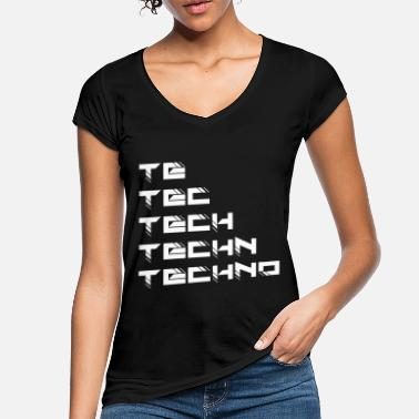 Techno Techno - Women's Vintage T-Shirt
