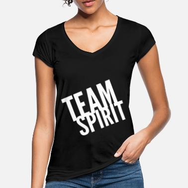 Spirit Team Spirit - Frauen Vintage T-Shirt