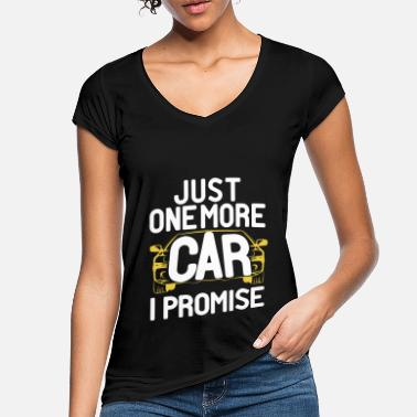 Just Just One More Car - Women's Vintage T-Shirt