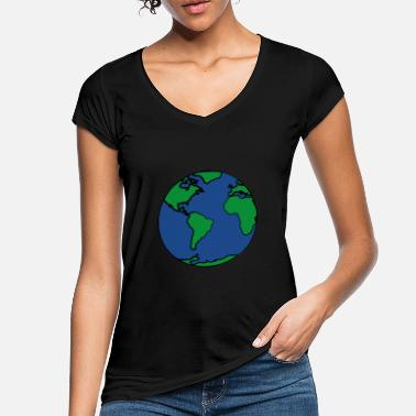 Planet Earth planet Earth - Women's Vintage T-Shirt