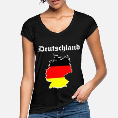 Schland germany t shirt - Women's Vintage T-Shirt