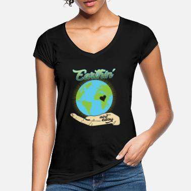 Ecologie eco bio vervuiling recycling ecologie - Vrouwen vintage T-Shirt