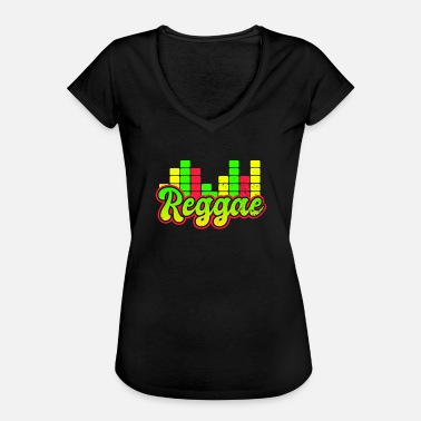 Roots Reggae Graphic Equalizer Gift - Vrouwen Vintage T-shirt