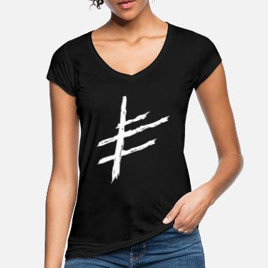 Viking North Viking warrior runes symbol of luck - Women's Vintage T-Shirt