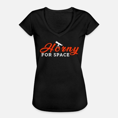 Cérès Space - Horny For Space - T-shirt vintage Femme