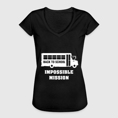 Mission Impossible Retour à l'école, mission impossible - T-shirt vintage Femme