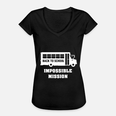 Mission Impossible Back to school, impossible mission - Women's Vintage T-Shirt