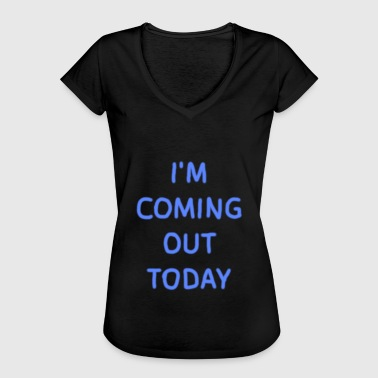 Coming Out Day - Frauen Vintage T-Shirt