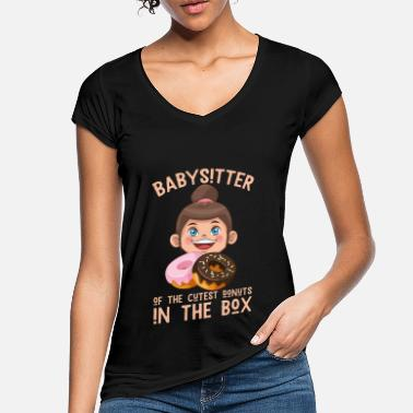 Babysitter Babysitter for the cutest donuts - Women's Vintage T-Shirt