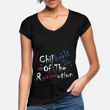 Children Of The Revolution (Nerd Love Edition) - Vrouwen vintage T-Shirt