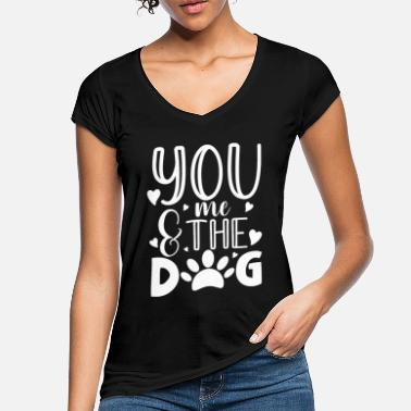 German Shepherd You me and the dog for a dog owner / - Women's Vintage T-Shirt