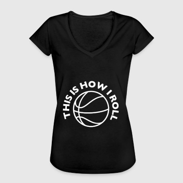Slutspel Basketball slutspel - Vintage-T-shirt dam