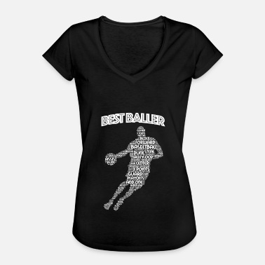 Power Forward Basketball Slam Dunk Assist Steal Rebound Gift - Women's Vintage T-Shirt