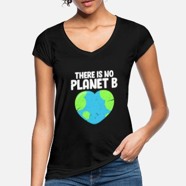 Planet klima~~POS=TRUNC - Vintage T-skjorte for kvinner
