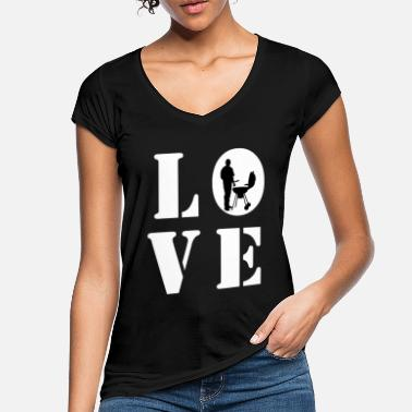 Grill LOVE GRILLING - Women's Vintage T-Shirt