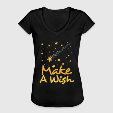 Shooting star, desire, fulfillment - Women's Vintage T-Shirt