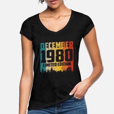 Limited 40th birthday 40 years man woman born in 1980 - Women's Vintage T-Shirt