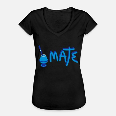 Mateo Mate Argentino - Vrouwen Vintage T-shirt