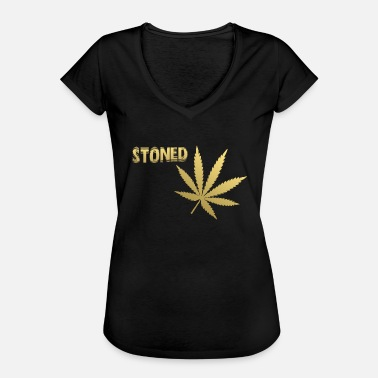 Stoned stoned - Frauen Vintage T-Shirt