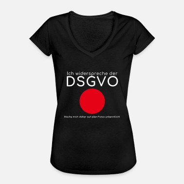 Gdpr I disagree with the GDPR - Women's Vintage T-Shirt