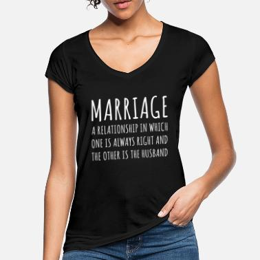 Marriage Marriage funny - Women's Vintage T-Shirt