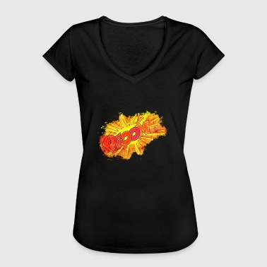 Explosion noise brightly glowing - Women's Vintage T-Shirt