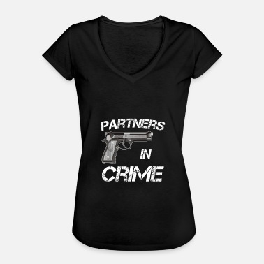 Partner Partner van Crime Partners in Crime Idea - Vrouwen Vintage T-shirt