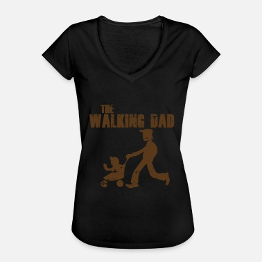 Walking Dad DAD WALKING - Camiseta vintage mujer
