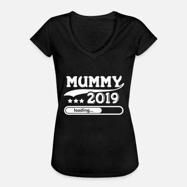 Baby Load Mummy 2019 loading... - Frauen Vintage T-Shirt