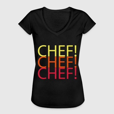 CHEF CHEF CHEF - T-shirt vintage Femme
