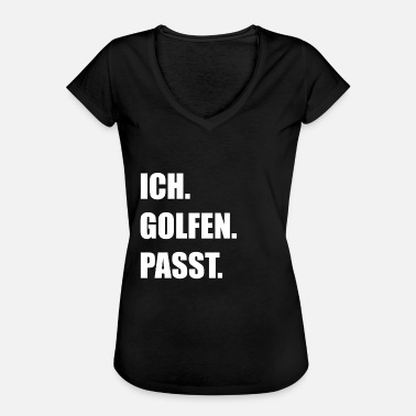 Putter Golf Golfing Golfers Golf Clubs Caddy Putter - Camiseta vintage mujer