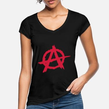 Anarchy Anarchie / Anarchy A - Women's Vintage T-Shirt