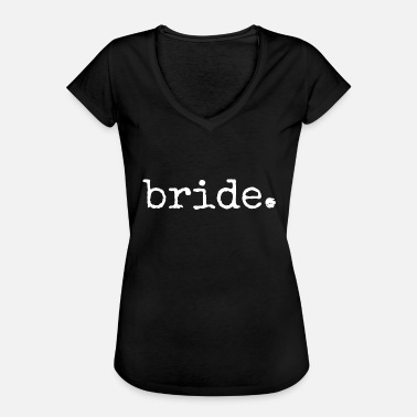 Blivande Brud Blivande brud. Hens Party. bachelorette Night Party - Vintage-T-shirt dam