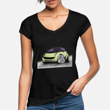 Montage Photo Auto tuning, voitures, montage photo, Voitures - T-shirt vintage Femme