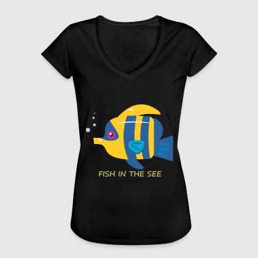 fish - Frauen Vintage T-Shirt