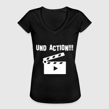 Action And action - Women's Vintage T-Shirt