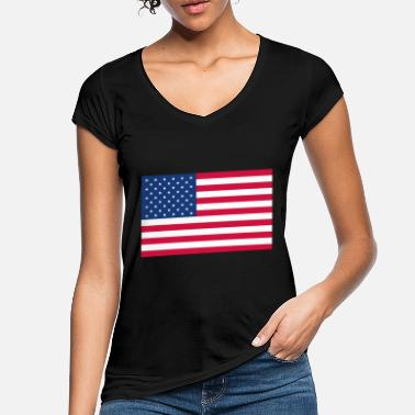 Stars And Stripes Stars and Stripes - Women's Vintage T-Shirt