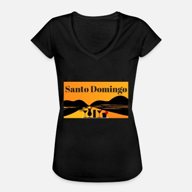 Santo Domingo Santo Domingo - Women's Vintage T-Shirt