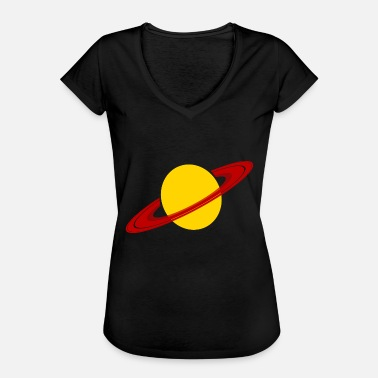 Space Planet Saturn Planet Space Space Gift - Women's Vintage T-Shirt