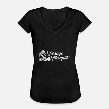 Massage-shirt Massage Therapist Geschenk Massagetherapeut Shirt - Frauen Vintage T-Shirt