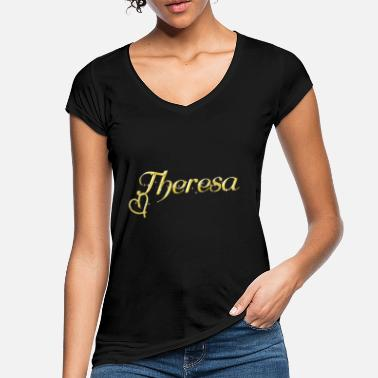 Name Day Theresa name first name women name day - Women's Vintage T-Shirt