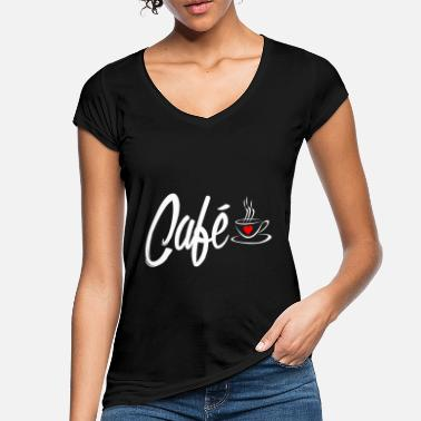 Tasty Coffee cafe - Women's Vintage T-Shirt