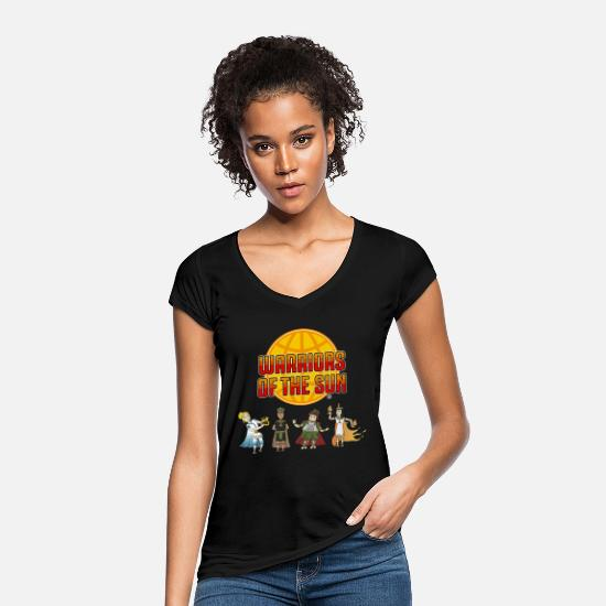 Cool T-Shirts - Warriors of the sun - Women's Vintage T-Shirt black