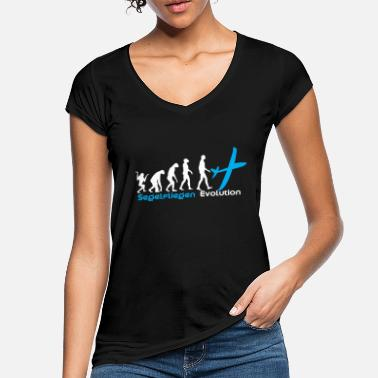 Soaring Soaring Evolution - Women's Vintage T-Shirt