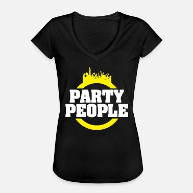 Party People Party People - Frauen Vintage T-Shirt