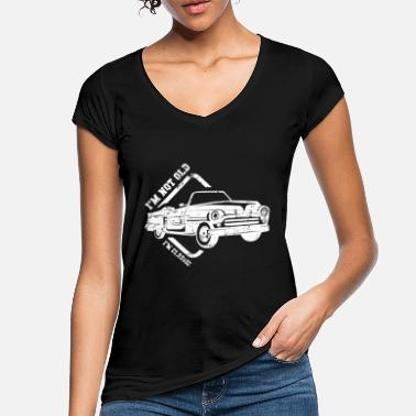 Car Vintage Car Classic Car Models Saying Gift - Women's Vintage T-Shirt