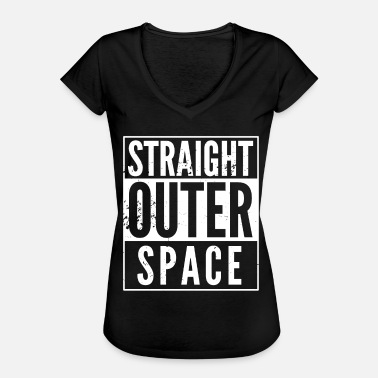 Spoof Straight Outer Space utilizado spoof - Camiseta vintage mujer